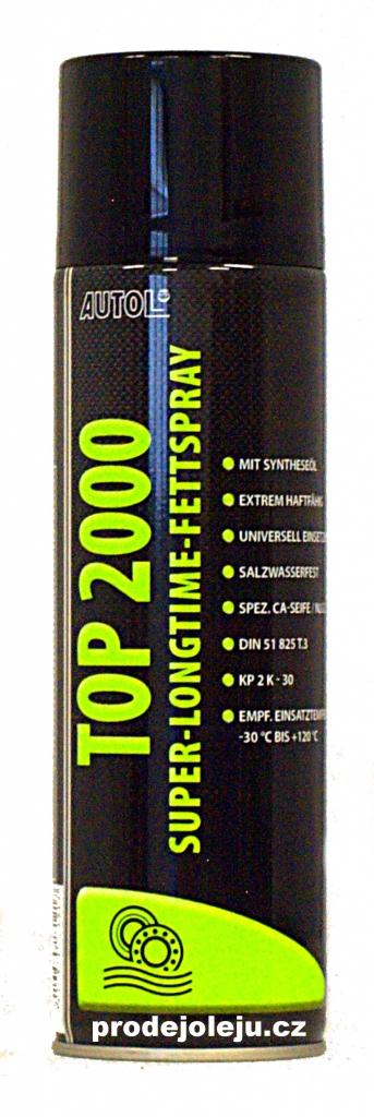 Eni-Agip AUTOL TOP 2000 longlife Fettspray - 500 ml