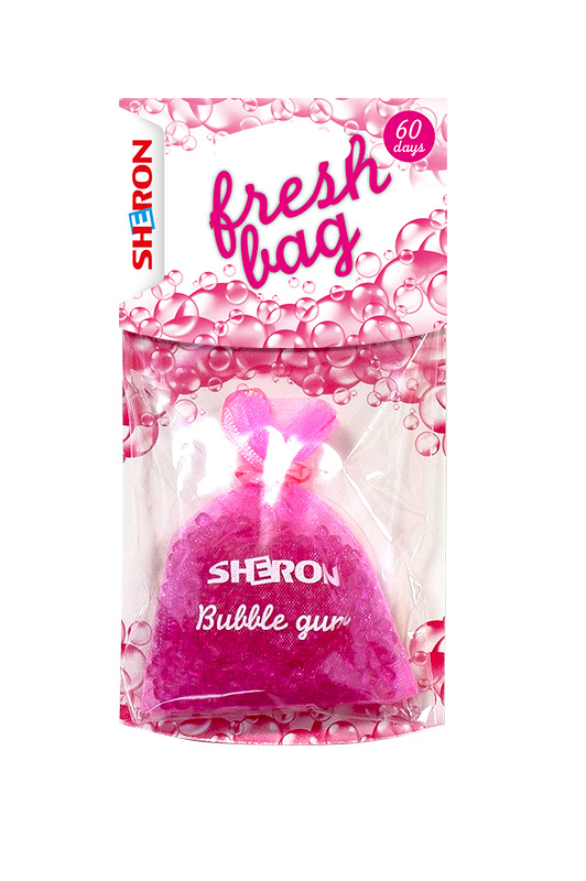 SHERON Osvěžovač Fresh Bag Bubble Gum - 1 ks