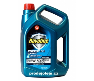 Texaco Havoline Energy MS 5W-30 - 4L