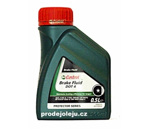 Castrol Brake Fluid DOT 4 - 500 ml