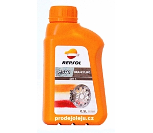REPSOL MOTO DOT 4 BRAKE FLUID - 500 ml