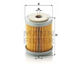 Palivový filtr MANN P609 - 1 ks