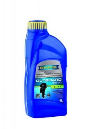 RAVENOL Outboardoel 4T-10W-30 - 1L