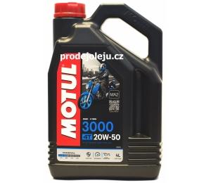 MOTUL 3000 4T 20W50 - 4L
