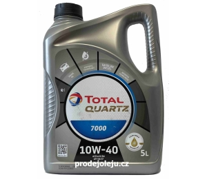 Total Quartz 7000 10W-40 - 5 litrů