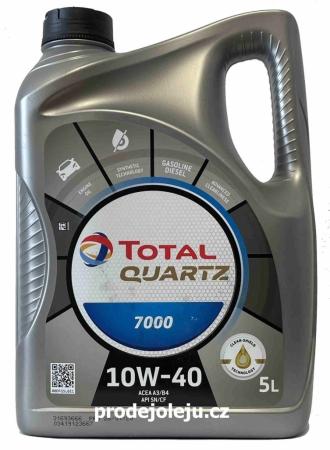 Total Quartz 7000 10W-40 - 5 litrů