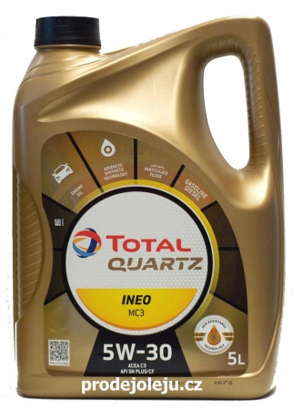 TOTAL QUARTZ INEO MC3 5W-30 - 5 litrů