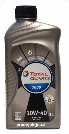 Total Quartz 7000 10W-40 - 1 litr