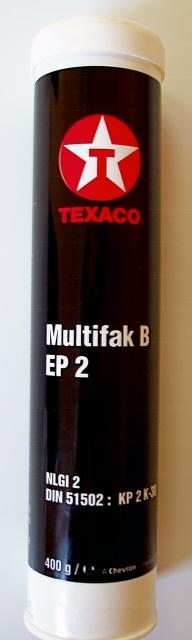 Texaco Multifak  EP 2 - 400g