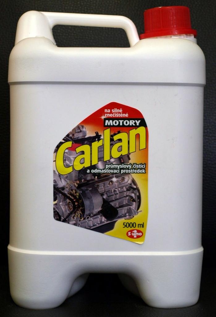 Carlan čistič motorů - 5 litrů