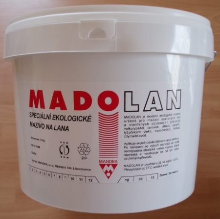 Madolan mazivo pro lana a otevřené převody - 9 kg