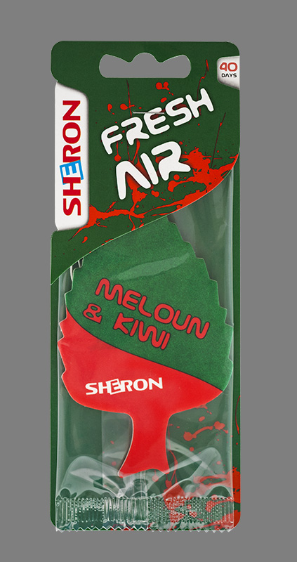 SHERON osvěžovač Fresh Air Meloun Kiwi - 1 ks