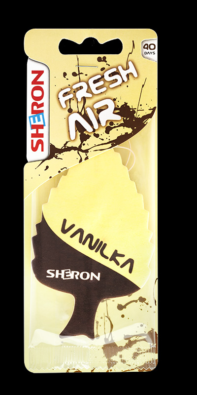 SHERON osvěžovač Fresh Air Vanilla - 1 ks