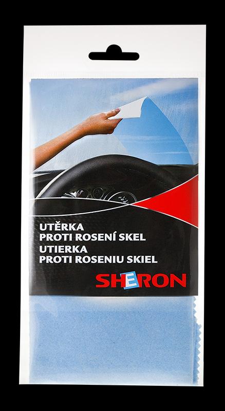 SHERON utěrka proti rosení skel - 1 ks