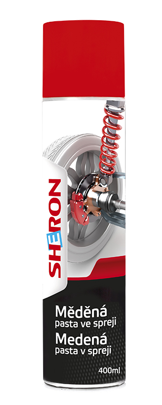 SHERON Měděná pasta ve spreji - 400 ml