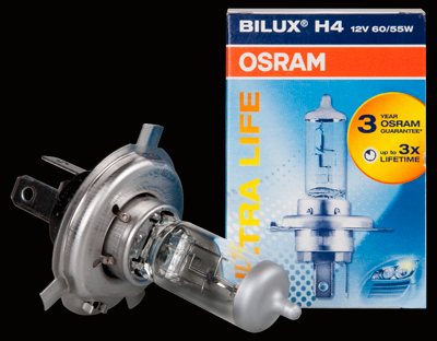 Osram H4 Ultra Life 12V, 60/55W - 1 ks